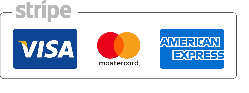 stripe payment options footer